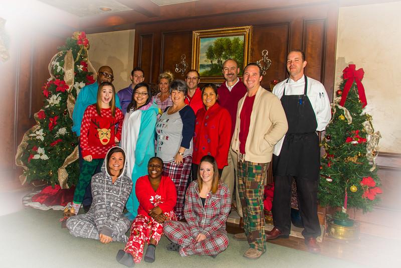 Staff Christmas 2015
