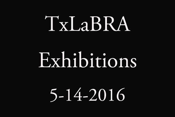 5-14-2016 TxLaBRA 'Exhibitions