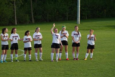 Badger Girls soccer v Waterford