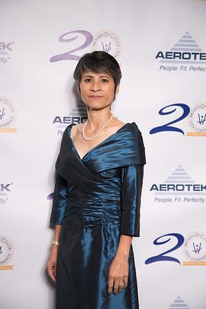 Aerotek Awards Gala Green Room Step and Repeat