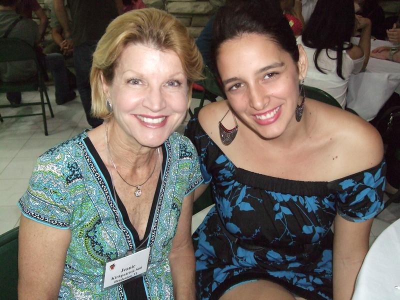 Jeanie and Lisandra Ramirez '14 - Sandy Kirkpatrick