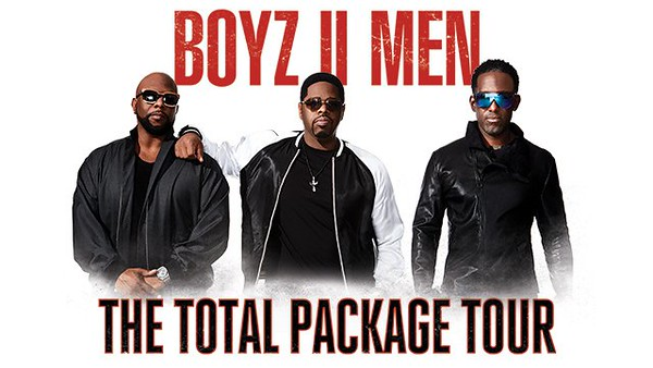 Boyz II Men - The Total Package Tour