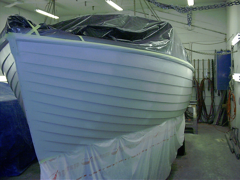 Port side in primer.