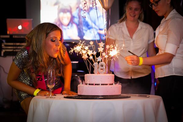 Raquel's 18th Birthday