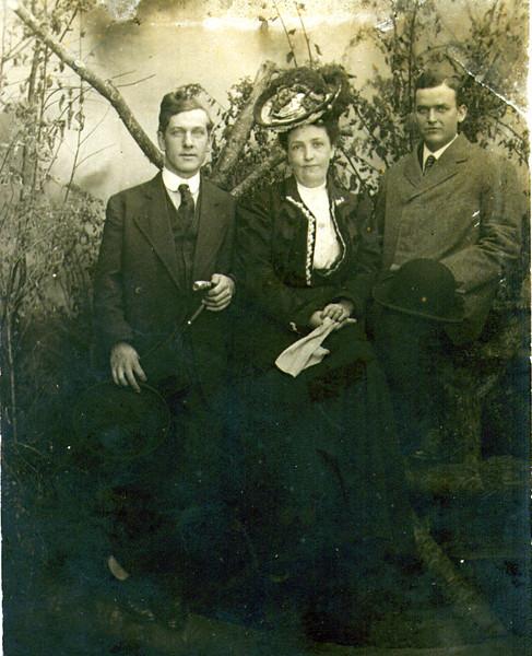Harry Merrill, Maude & Joe Eldredge