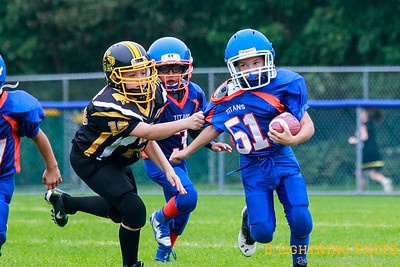 09/21/14 Might Mites  Panthers vs Keansburg
