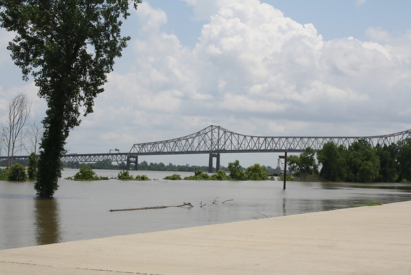 View of Baton Rouge from Port Allen 5-16-11