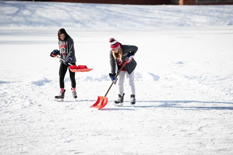 Pond Hockey on Potter's Pond