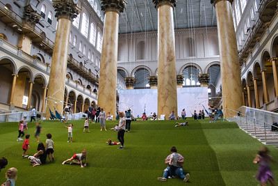 Building Museum The Lawn