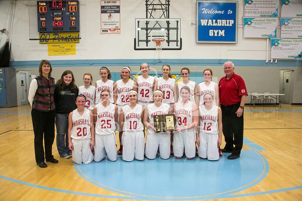 Lions Basketball 2012-13
