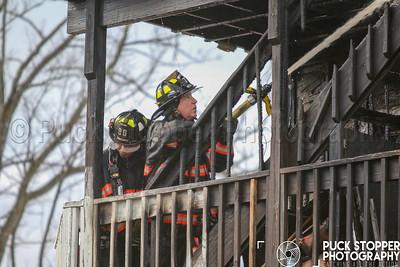2 Alarm House Fire - 194 Beekman Ave, Sleepy Hollow, NY - 12/24/18