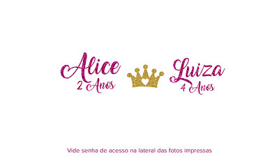 Aniversário Alice & Luiza 06.01.2019