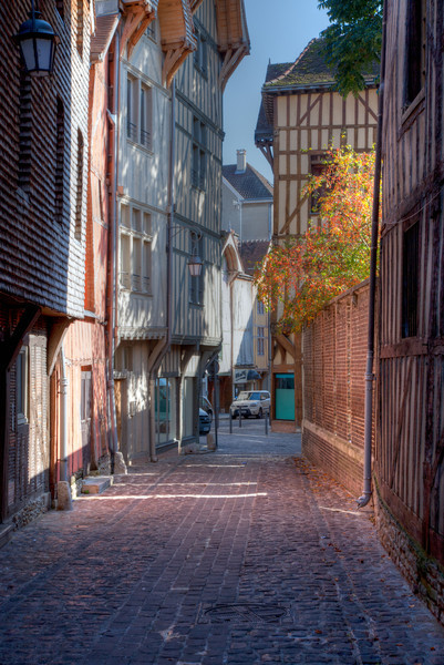 Troyes - Meieval Houses