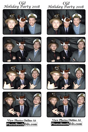 12/14/2018 CGI Holiday Party 2018 (PhotoStrips)