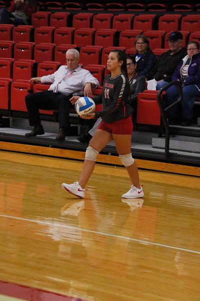 WHS Freshman Volleyball vs McPherson  101019