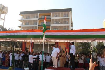 Republic Day At Kondapur