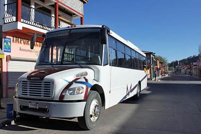 Slideshow - Batopilas Bus Ride