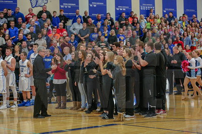 National Anthem @ Lakeside vs. Lake Mills Game