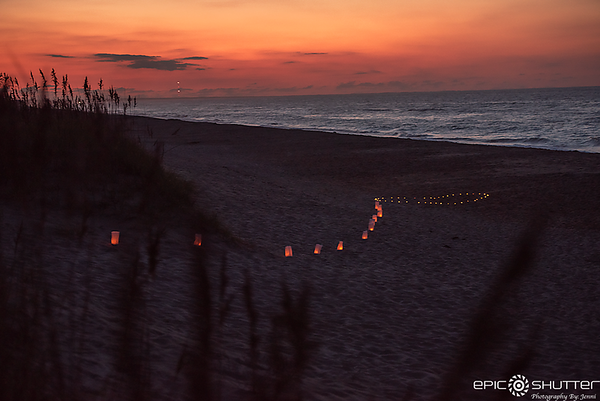 Charlie and Mary, Surprise Proposal, Engaged, Sunrise, Hatteras, North Carolina, Outer Banks Photographers, Cape Hatteras Photographers, Hatteras Island Photographers, Epic Shutter Photography