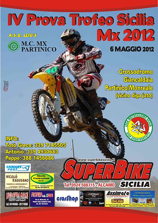 IV° Prova Trofeo Sicilia MX 2012