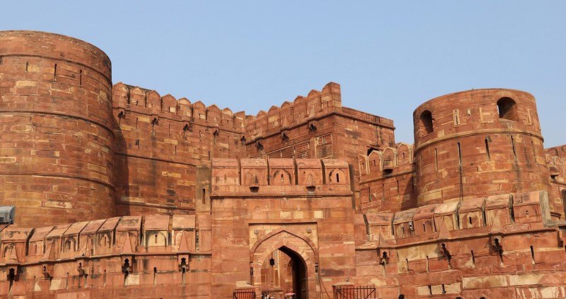 Agra Fort - also known as Lal Qila or Red Fort  - It was the main residence of the emperors of the Mughal Dynasty till 1638
