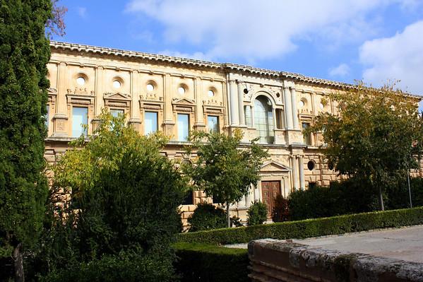Alhambra - Palacio de Carlos V