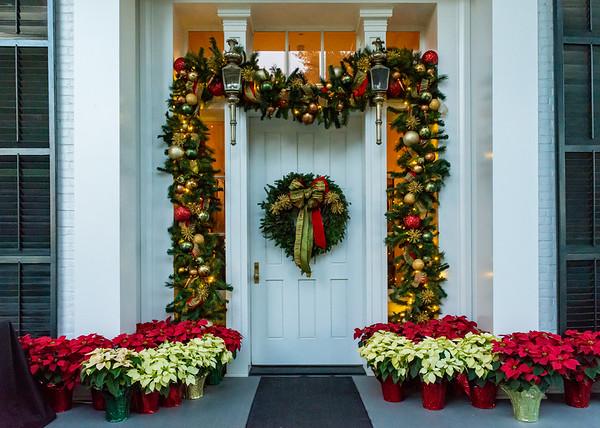 Sam Houston Holiday Reception