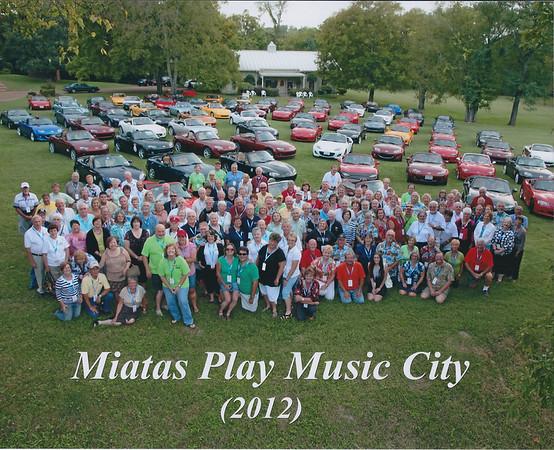 Miatas Play Music City - Nashville 2012