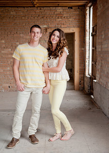 Lindsay & Alex Announcement Pictures
