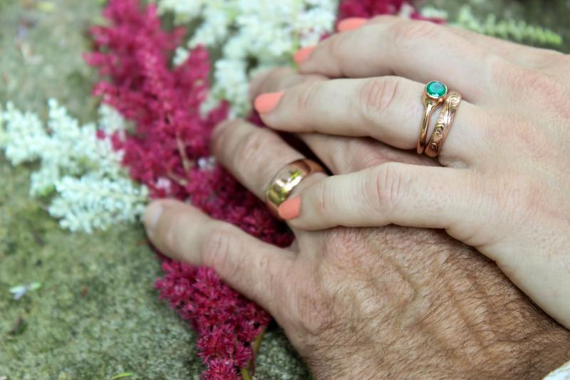 Grand Rapids, MI wedding rings, Aquinas College wedding