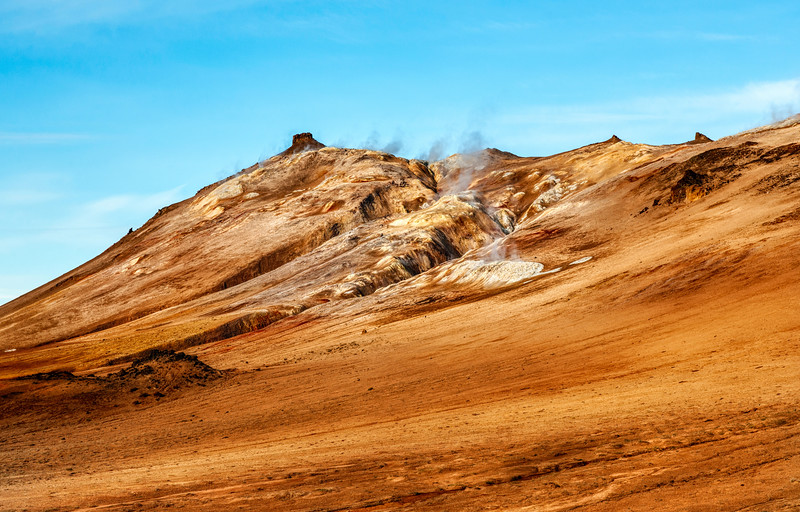 Geothermal Action in Iceland