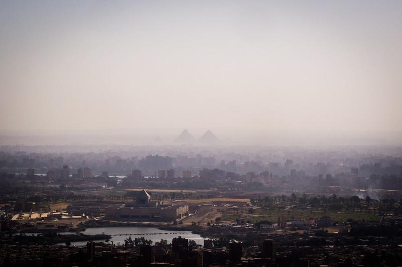 Cairo from Moqattam