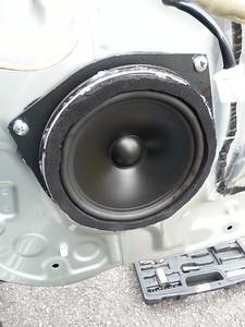 2001 Lexus IS300 Sedan Front Door Speaker Installation - USA