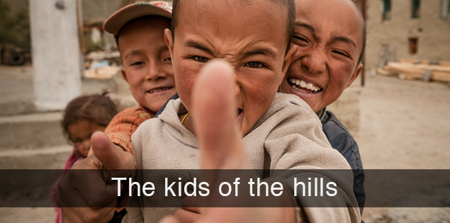 Kids of the hills...