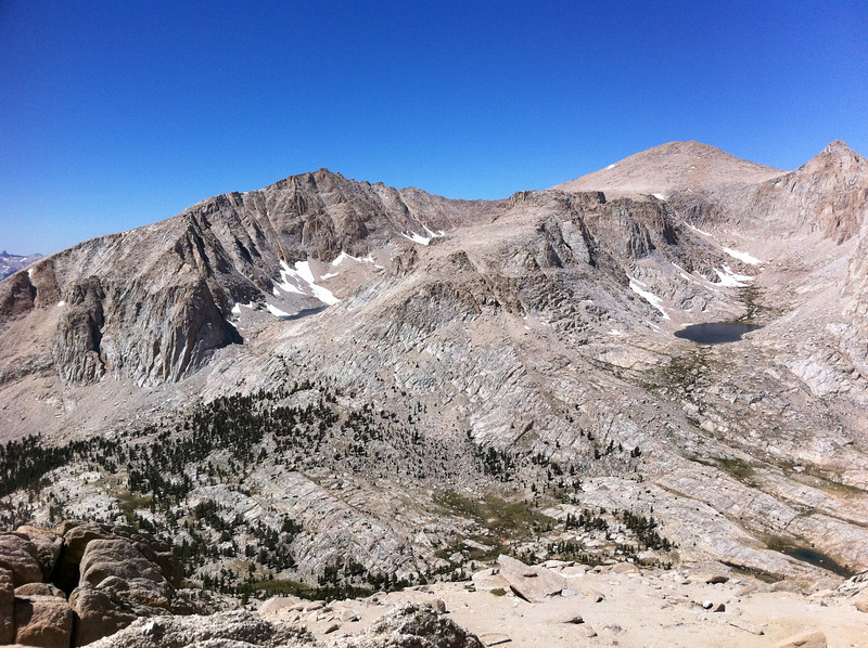 Taken with my iPhone.  The Major General summit view  Looking over towards Joe Devel and more.