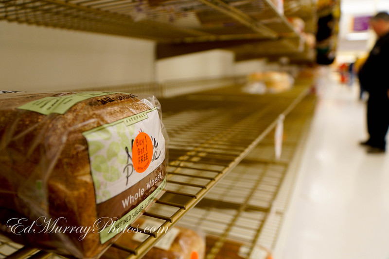 Bread aisle at Stop N Shop