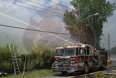 Plainview F.D.   Brush Fire  Winding Rd. 7/21/20