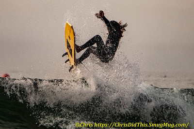 Some Dramatic Surf Shots