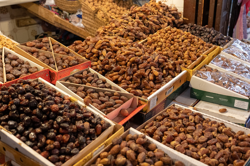 Dates in the Fes Medina