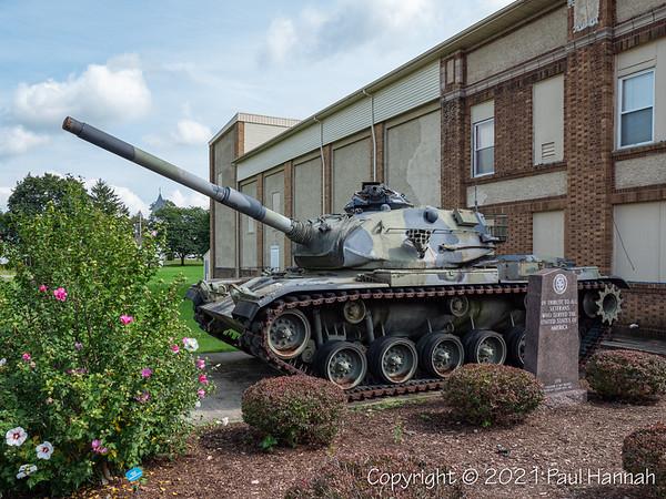 American Legion Post 402 - Wayland, NY - M60A3