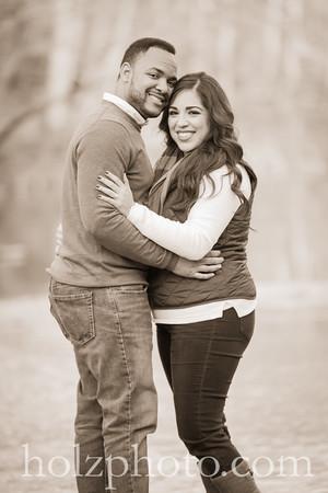 Brianna & Lonnie Creative Engagement Photos