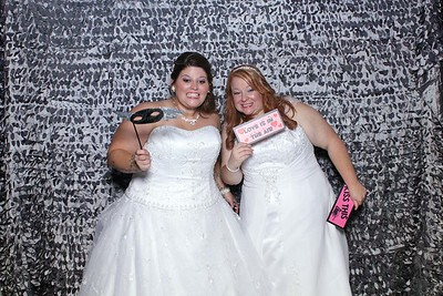 Laura and Kellee's Wedding Mirror Booth Photos