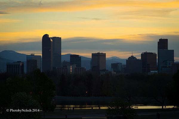 City Park Sunset 2014