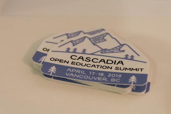 Cascadia Open Education Summit - Day 1