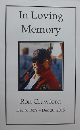 Ron Crawford Service 2016
