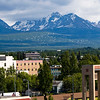 Cityscape of Anchorage Alaska
