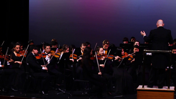Winter 2016 Orchestra concert