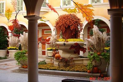 Las Vegas/Bellagio- Thanksgiving 2007