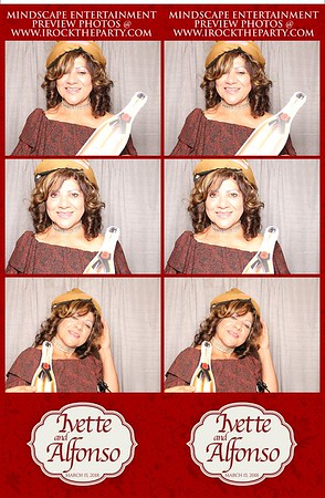 Ivette and Alfonso's Wedding- Photo Booth Pictures