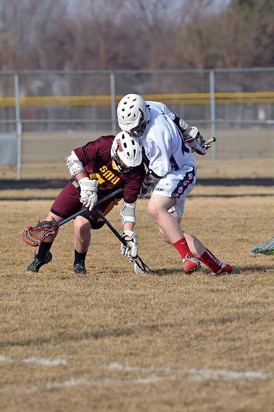 SMU takes on Stevenson in lacrosse